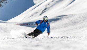 Wintersport-Frankrijk